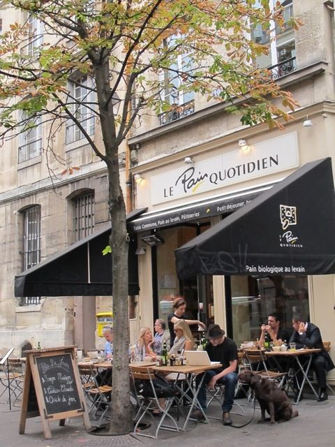 Paris 4e - Le Pain Quotidien - Le Marais - organic bread and snacks - 18-20 Rue des Archives