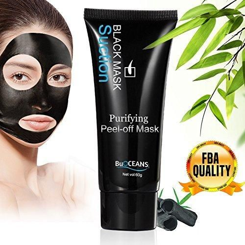Blackhead Remover Mud Face Mask Peel-off MaskSuction Black MskFace Mask for Blackheads RemoveTearing Style Deep Cleansing Purifying Peel off the Blackhead