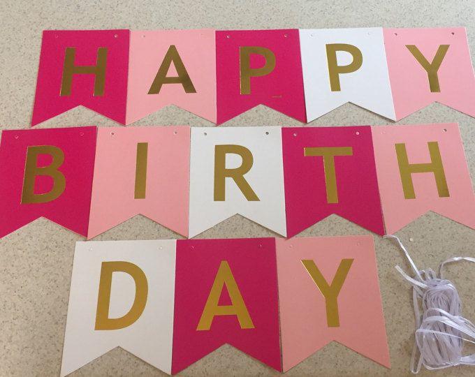 happy birthday banner , banner , happy birthday, birthday, girls bday