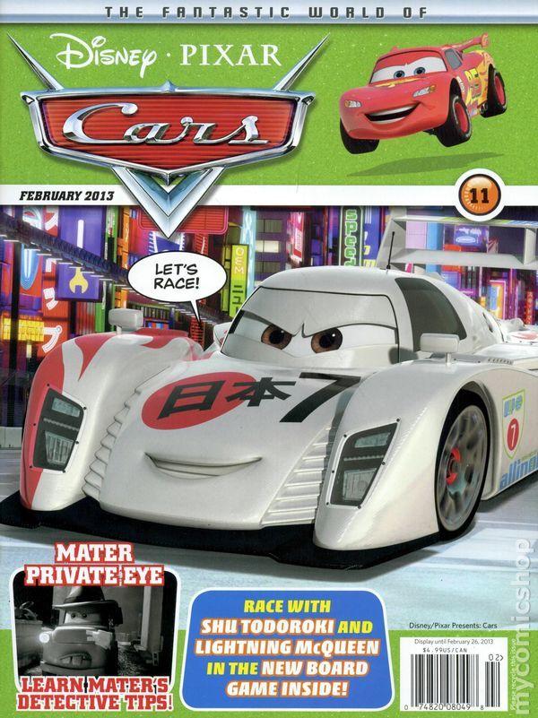 11 best Disney Cars Magazines images on Pinterest | Journals ...