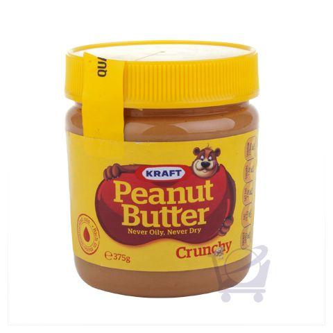 Crunchy Peanut Butter – Kraft – 375g | Shop Australia