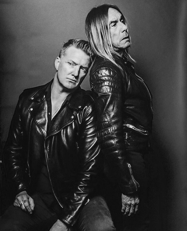 My love Josh Homme with Iggy Pop