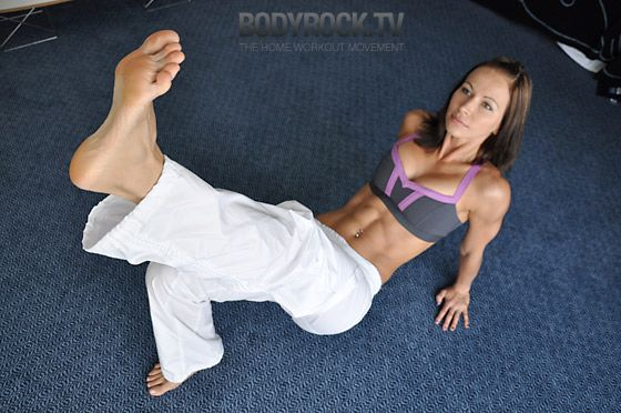 12 minute ab workout with no equipment...