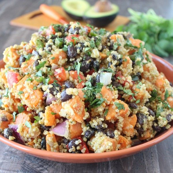 Vegan Mexican Sweet Potato Salad Recipe