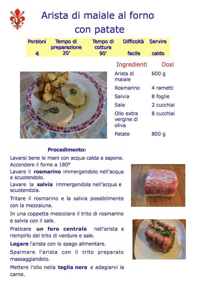 arista di maiale al forno con patate di www.iopreparo.com è un secondo piatto molto gustoso della tradizione italiana, tipico dei giorni di festa. Le patate arrosto sono di contorno alla carne magra e tenera del maiale.