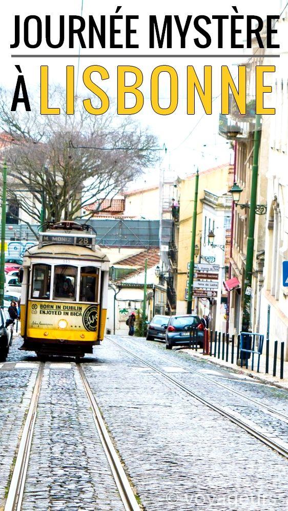Découvrir Lisbonne avec un programme secret, plutôt insolite non?
