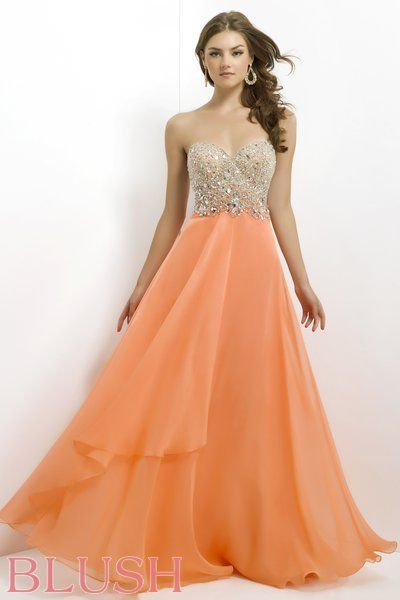 Blush Prom Dresses and Evening Gowns Blush Style 9804