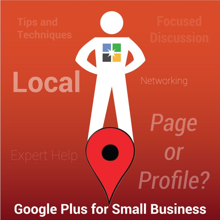Join the Google Plus for Small Business community. Networking, support, and focused discussion for busy people. Get your business started on Google+ right here