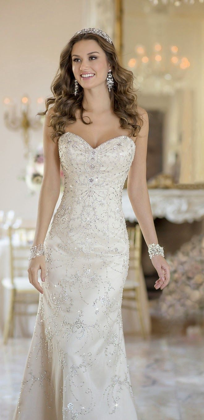 73 best designer stella york images on pinterest for Stella york convertible wedding dress