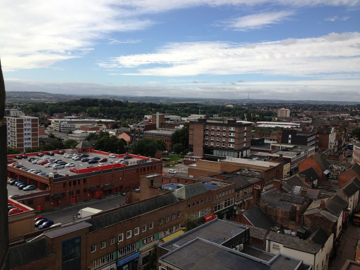 #Panoramic view of #Wakefield