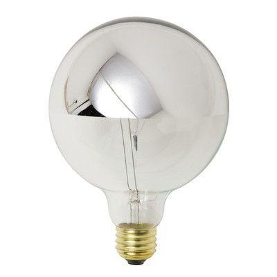 Nuevo 25W Chrome G50 Light Bulb
