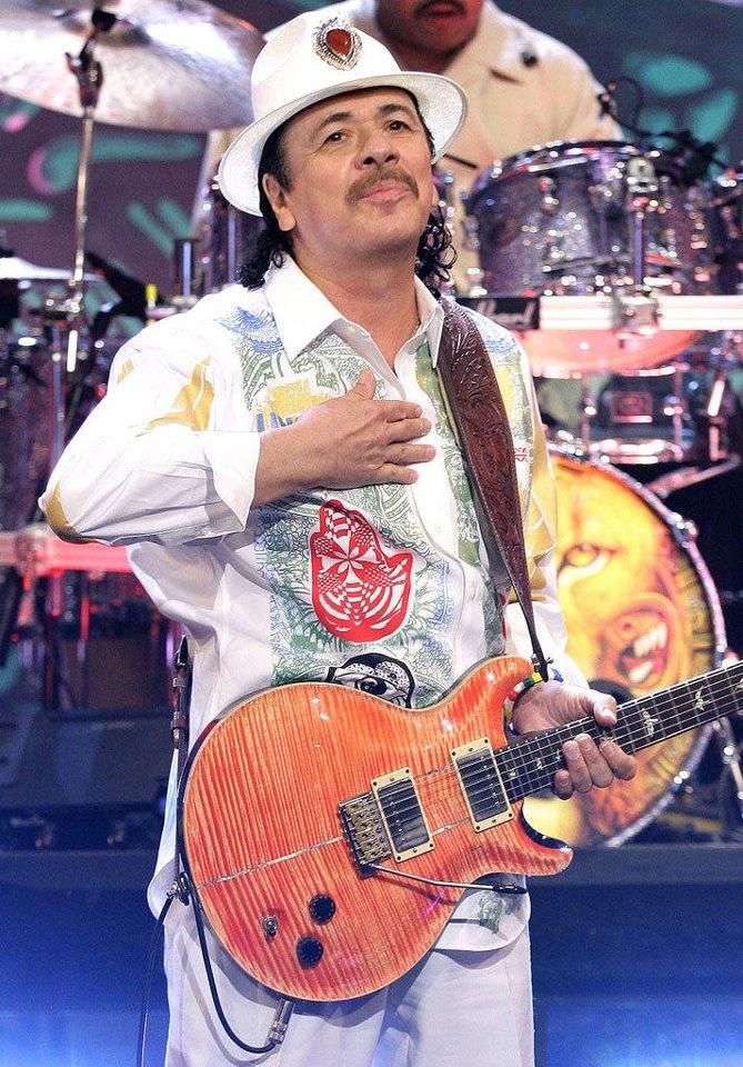 Carlos Santana will always be one of my favorites!