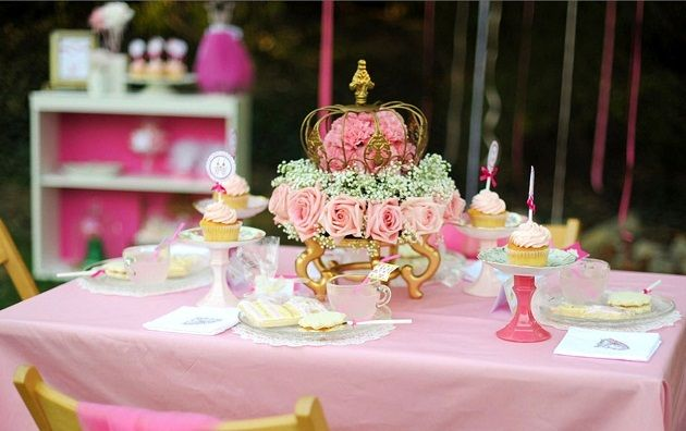 How To Design A Summer Princess Tea Party    Hi everyone!  I'm Chris Nease, editor of Celebrations At Home website, and a party stylist.  If you