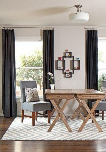 Side by side campaign desks from Cost Plus World Market. Room designed by Lane Design Studio llc.