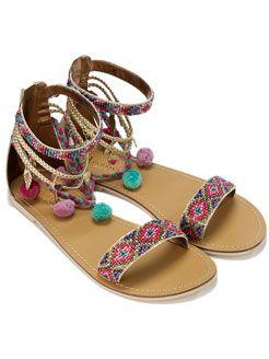 sandalias hippies femeninas