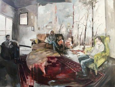 "Saatchi Art Artist Magdalena Lamri; Painting, ""Silence"" #art"