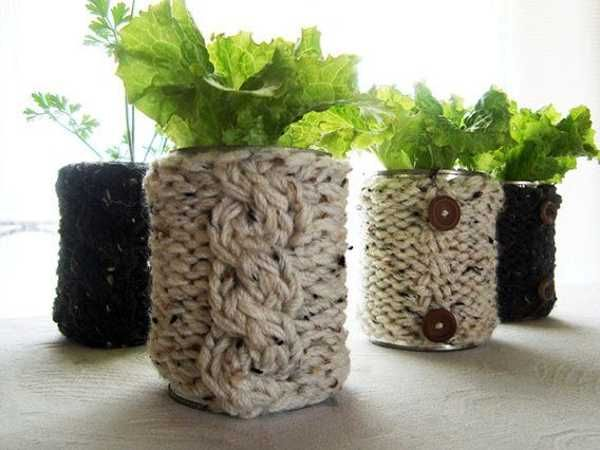 Unique Ideas for Potted Plants.  Fun designs, ideas and tutorials for container gardening.