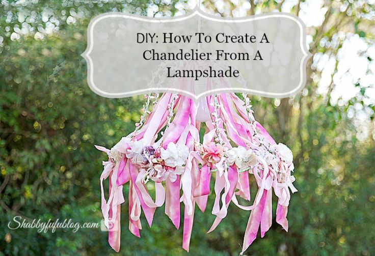 diy lampshade how to make