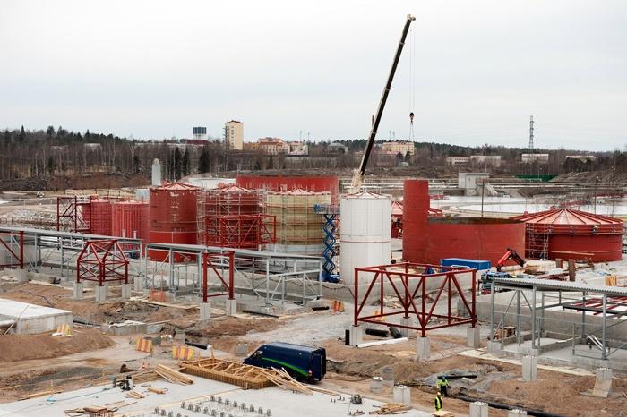 UPM Lappeenranta Biorefinery Project in April 2013