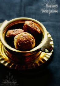 Cook like Priya: Banana Kuzhi Paniyaram | Sweet Paniyaram Recipe | Banana Coconut Paniyaram