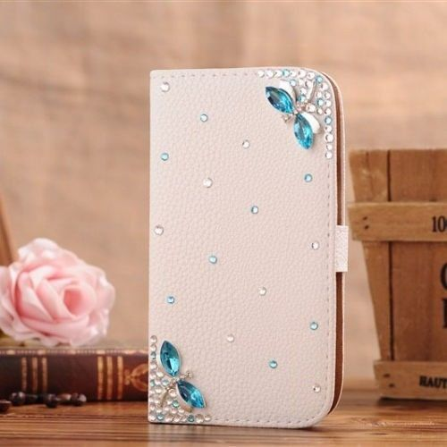 """Bekijk alle stijlvolle iPhone hoesjes - #leather iphone case and card holder   <a href=""""http://Amazon.com"""" rel=""""nofollow"""" target=""""_blank"""">Amazon.com</a>: White Luxury 3D Fashion Handmade Bling Diamond PU Flip Leather Case Cover For Smart Mobile Phones 8 (Samsung Galaxy Note Edge , Butterfly): Cell Phones & Accessories - http://www.ledereniphonehoesjes.nl/slimme-iphone-6-hoesjes/"""