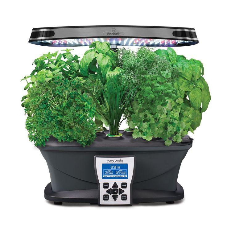 Amazon.com : Miracle-Gro AeroGarden Ultra LED Indoor Garden with Gourmet Herb Seed Kit : Patio, Lawn & Garden