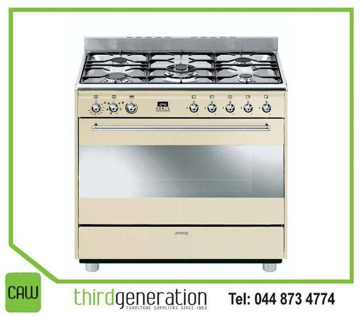 A passion for cooking demands an outstanding cooker. Blending practicality with style, #Smeg cookers are genuine design icons where style and elegance go hand in hand. Visit #ThirdGenerationCAW for our range of Smeg cookers. #Appliances