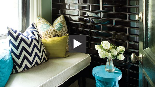 Cosy and Eclectic Home Office   #video #hometour #homeoffice #Montreal #smallspace