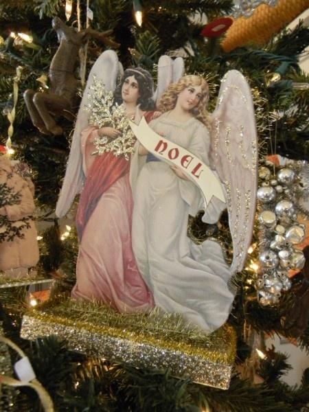 Noel angels  A vintage inspired Christmas