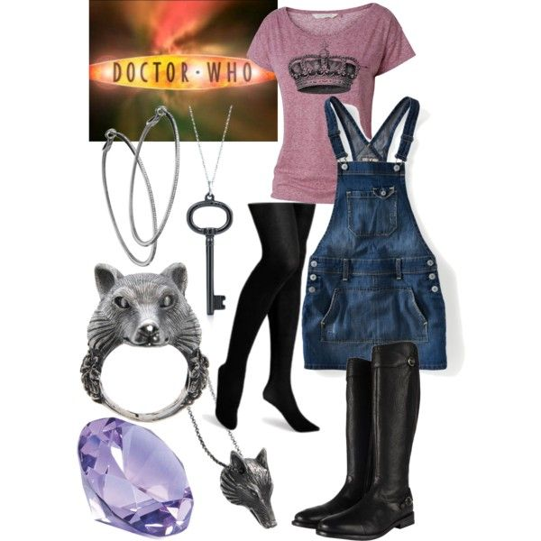 """Rose Tyler from the BBC's """"Doctor Who.""""  Season 2, Episode 3: """"Tooth and Claw"""" - Bri (b-scottyer on Polyvore)"""