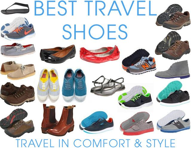 Best Shoes For Travel - The Guide To Choosing The Perfect Shoes, Sandals, Flats and Boots for Traveling