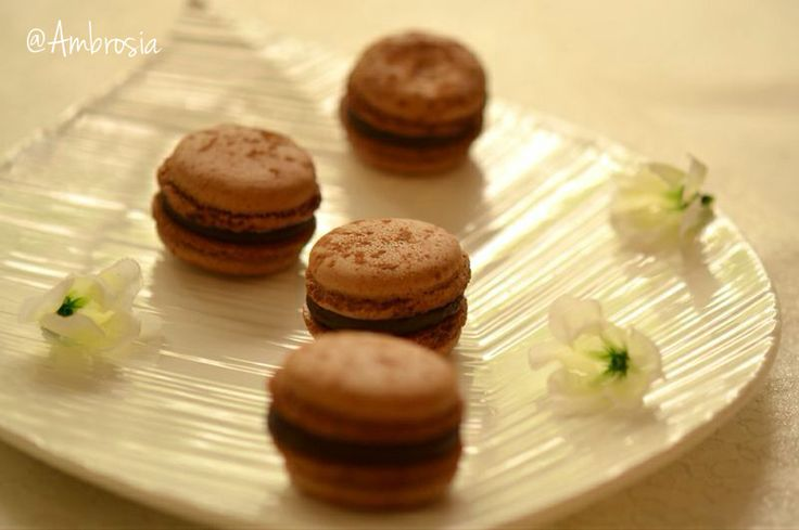 Bonjour!  #Chocolate #Coffee #Macarons #ParisianTreats #French #Love #FoodPhotography #Ambrosia