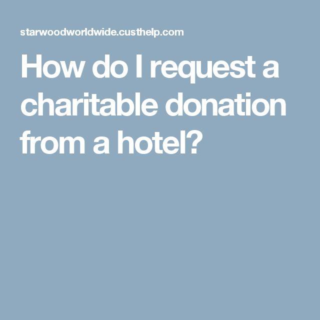 Elite Island Resorts Donation Request