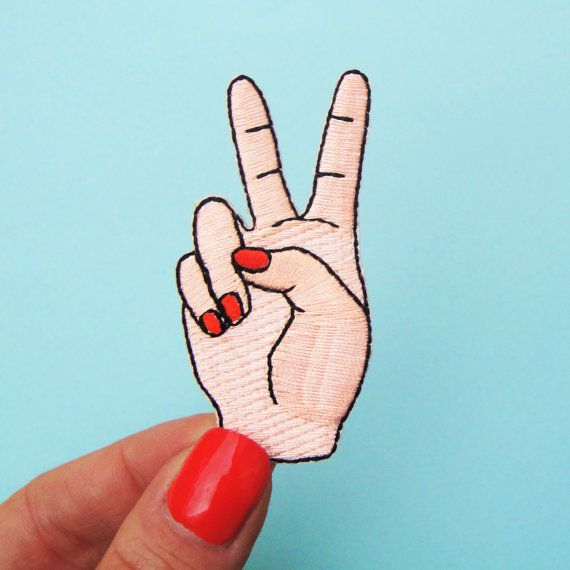 PEACE PATCH by CoucouSuzette on Etsy