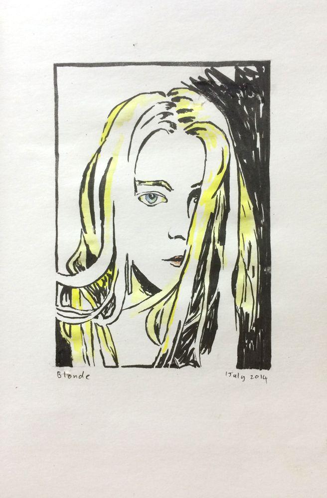 1 July 2014 - Blonde