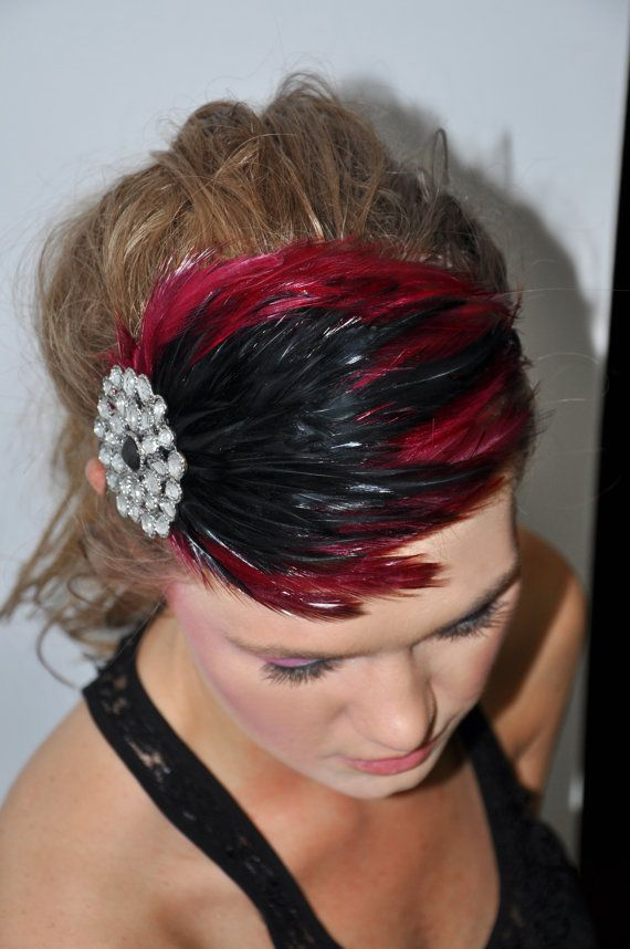 bloomer Elegant Burgundy Reds and Black by SHOWYOURbloomers, $35.00