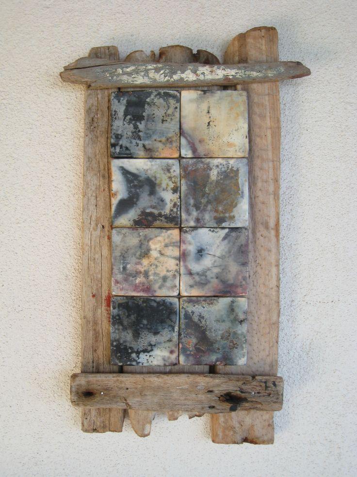 driftwood & ceramics tiles