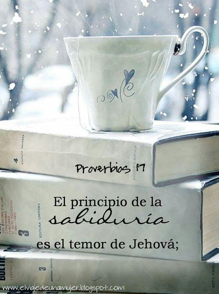 El principio de la sabiduría...