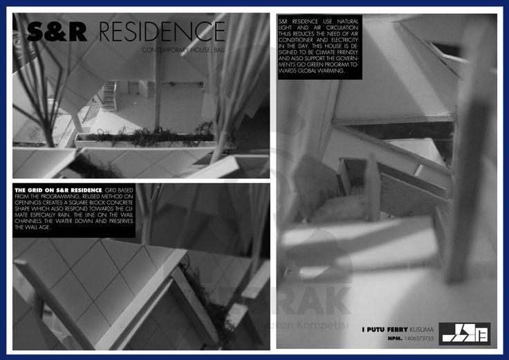 S&R Residence_I Putu Febry Kusuma_Arsitektur 2014