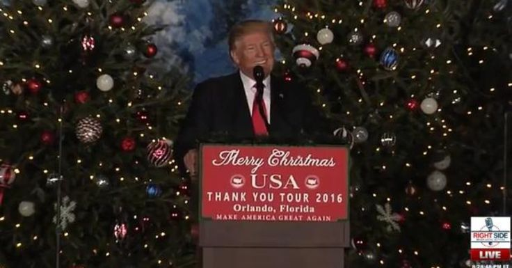 Full Video: President-Elect Donald Trump Orlando, Florida Rally, USA Thank You Tour 2016, Fri., Dec. 16 at Central Florida Fairgrounds