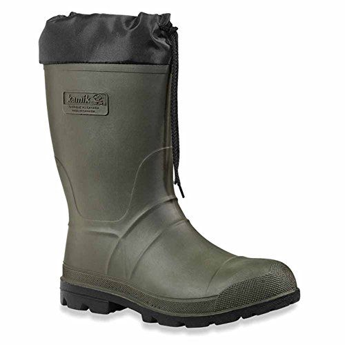 Wellington:  Type: All-purpose rubber boot   Material: Rubber compound   Sole: EXPLORER outsole    Wellington equipment:  Cuffs equipped with drawstring: yes   with thermo lining: yes   with removeable inner shoes: yes    Shaft height: 34.3 cm   product specific size information: size is...