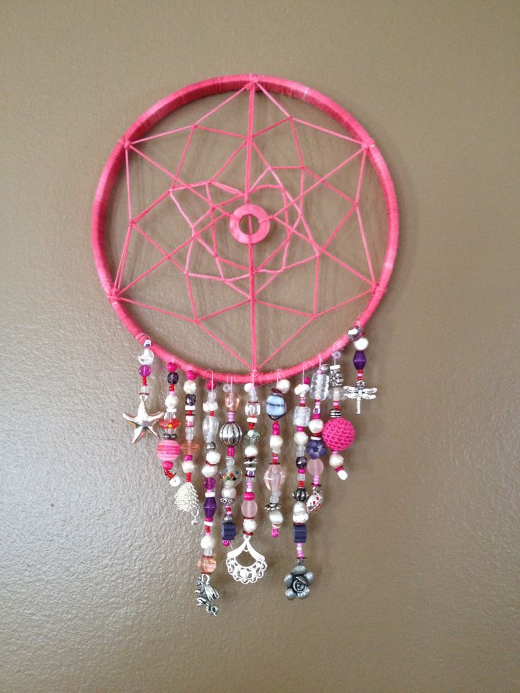 Homemade dream catcher CRAFT FOR KIDS Pinterest