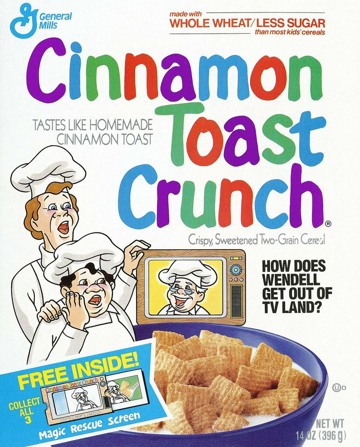 In 1990  Cinnamon Toast Crunch baker mascot got caught in TV Land  You    Cinnamon Toast Crunch Baker