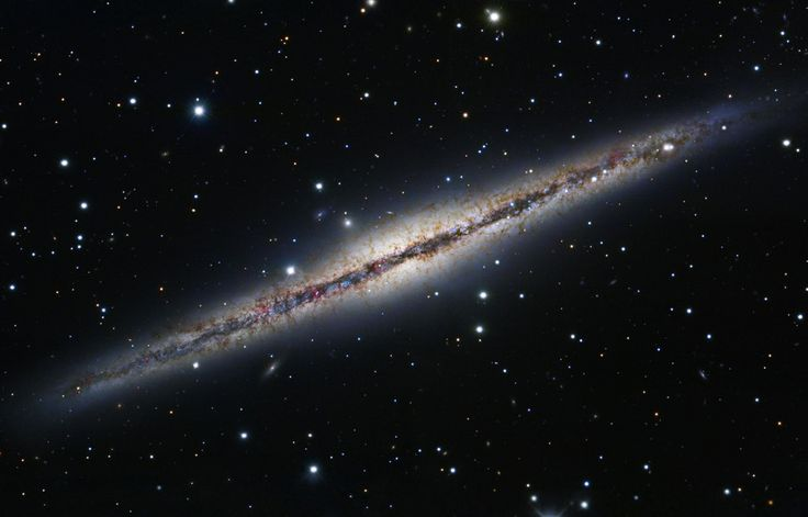 APOD: 2012 May 26 - At the Edge of NGC 891
