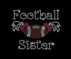 Personalizada futbol hermana Hotfix por MyCreativeOutletTime