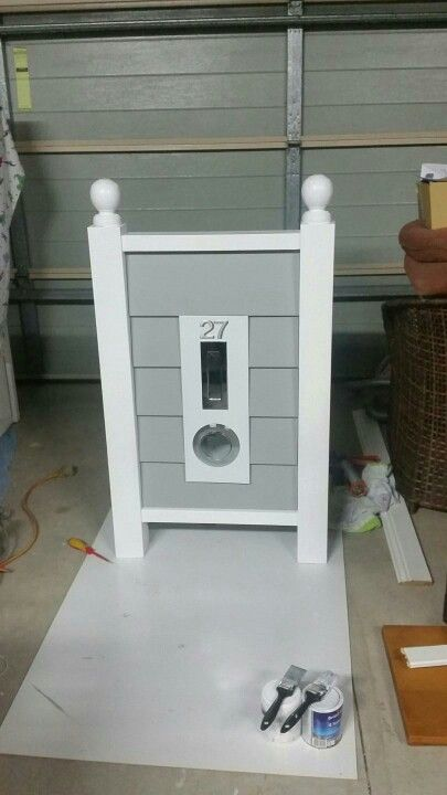 Hamptons style letter box. @Lozarley Handcrafted in Port Stephens NSW. #coastal