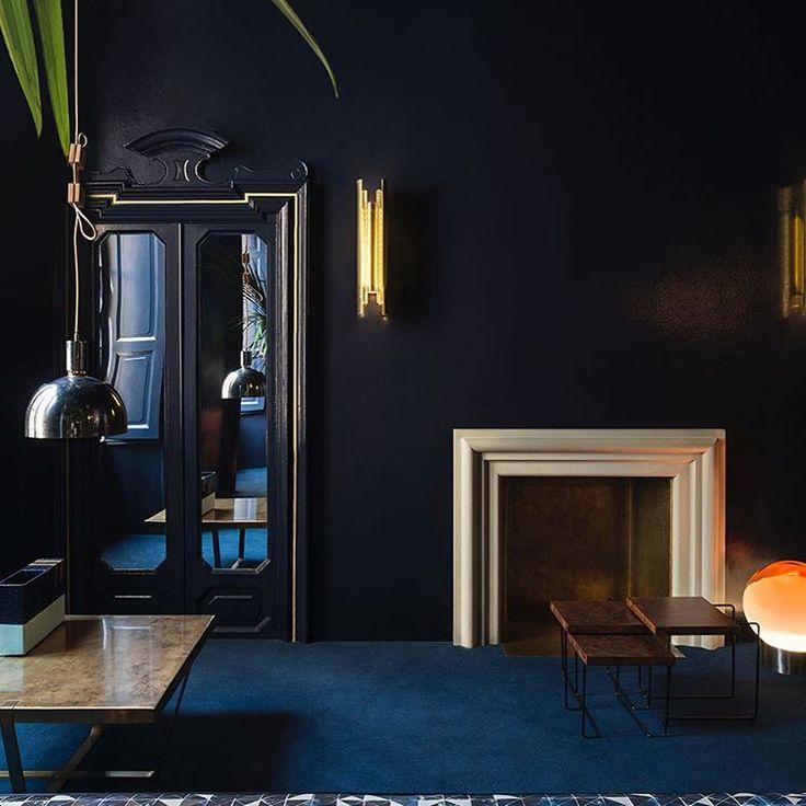 lamps living room lighting ideas dunkleblaues. Navy Room By Dimore Studio. Lamps Living Lighting Ideas Dunkleblaues U