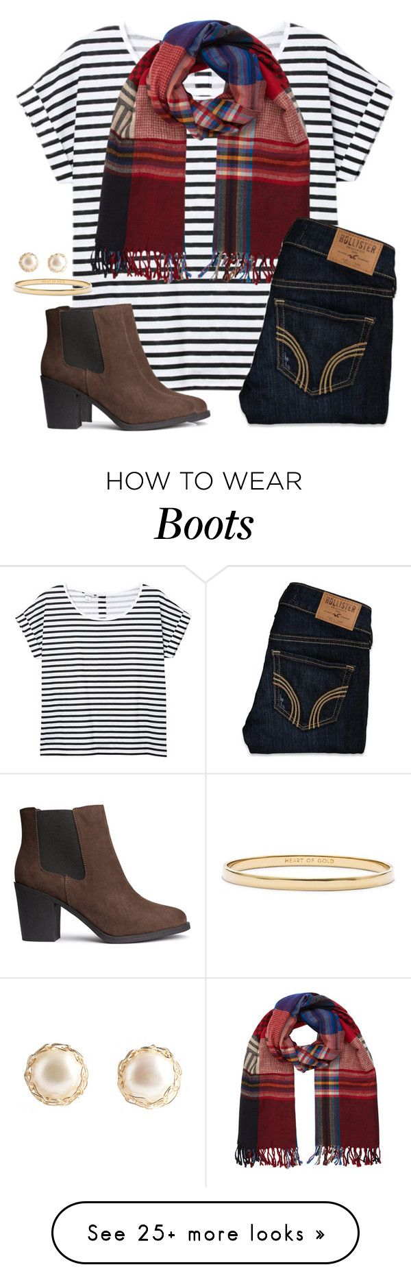 """A is for Ankle boots"" by anna-watson00 on Polyvore featuring Monki, Monsoon, Hollister Co., H&M and Kate Spade"