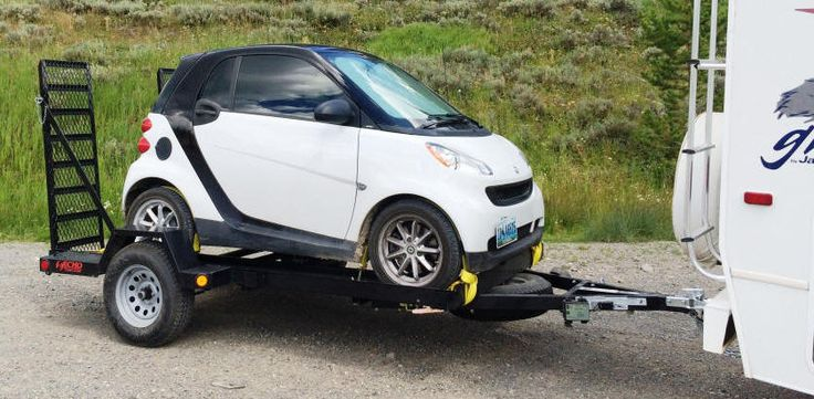 SMART CAR TRAILERS, SMALL CAR TRAILER, AND UTILITY TRAILERS