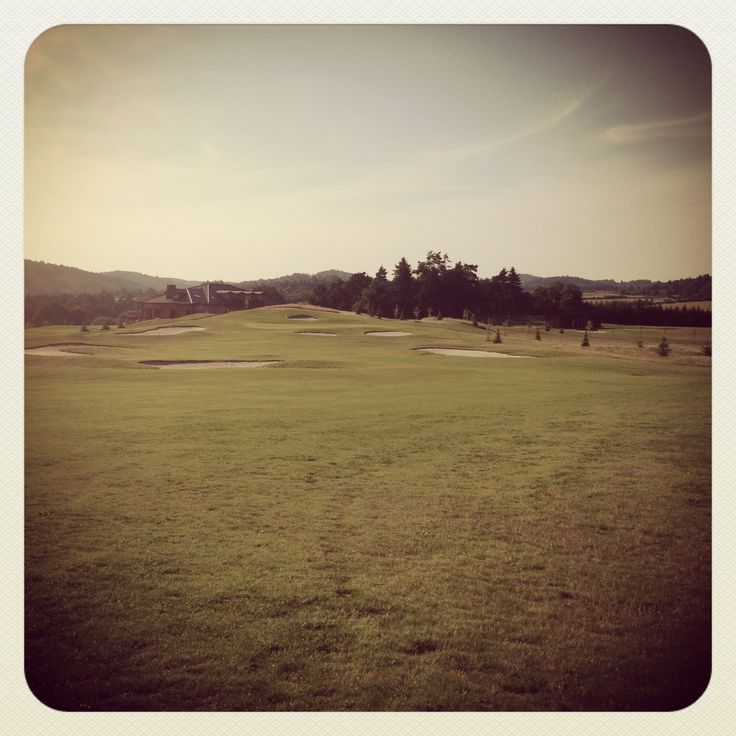 Golf course Loreta Pyšely. Should be a great course in three years.